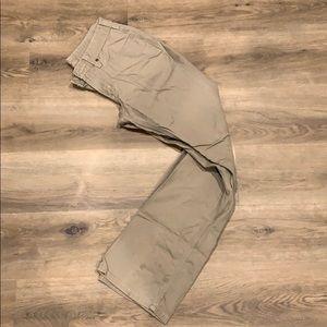 Carharrt Khaki Work Pants Size 4 x 34